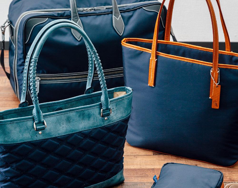 漁網シリーズの鞄